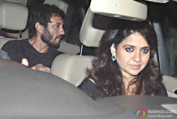 Homi Adajania during the special screening of movie Ae Dil Hai Mushkil at lightbox