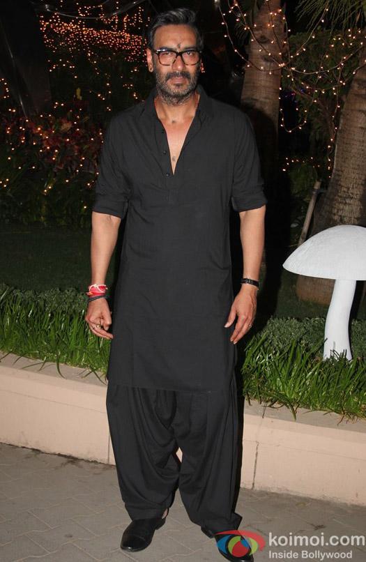 Ajay Devgan at special screening of Shivaay