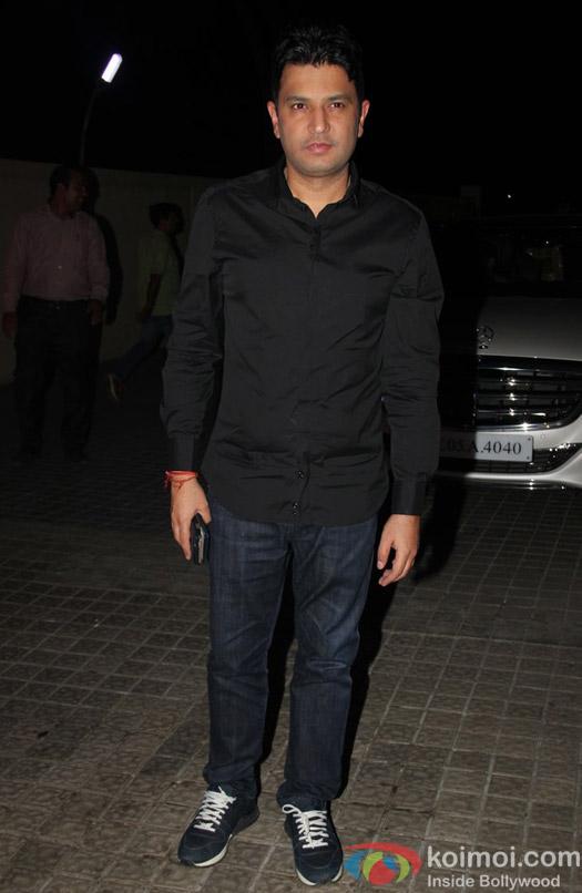 Bhushan Kumar at special screening of Shivaay