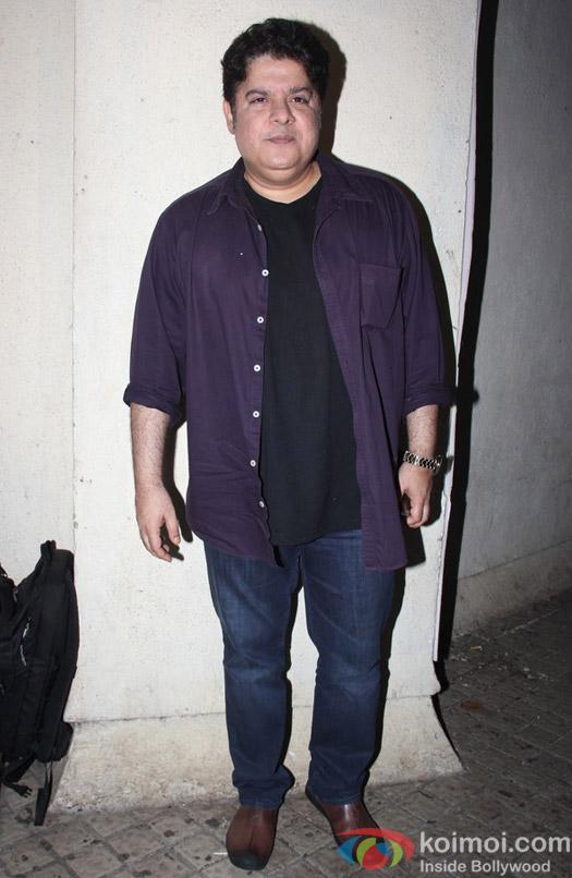 Sajid Khan at special screening of Shivaay