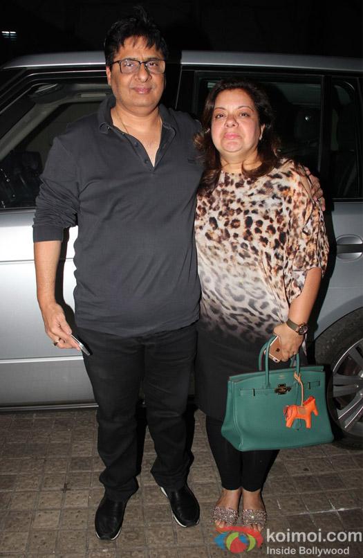 at special screening of Shivaay
