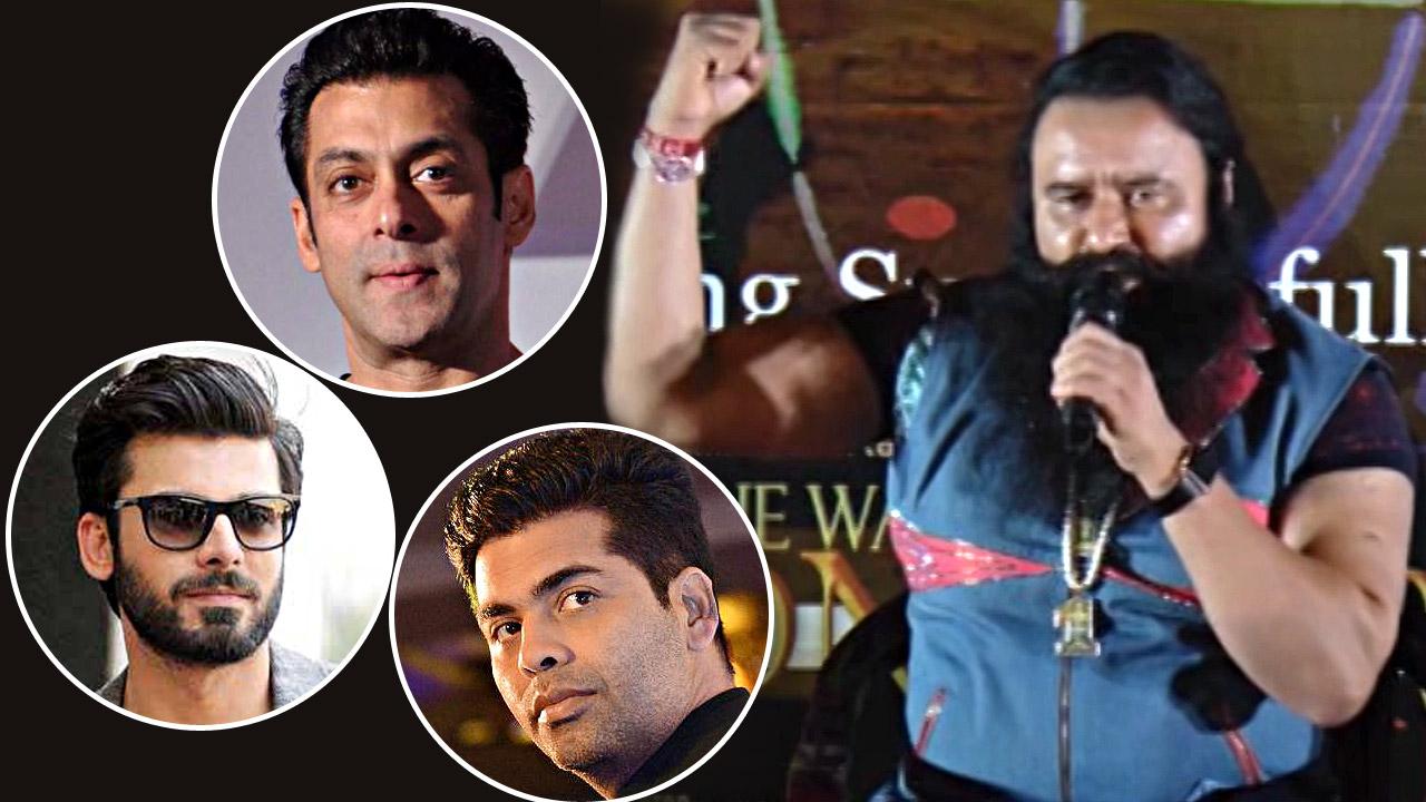 St. Ram Rahim Gurmeet Singh Insan Supports Banning Pakistani Actors