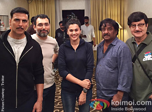 Akshay Kumar and Taapsee Pannu have wrapped up the Malaysia schedule for Naam Shabana