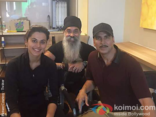 Taapsee Pannu and Akshay Kumar have wrapped up the Malaysia schedule for Naam Shabana