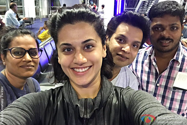 Taapsee Pannu have wrapped up the Malaysia schedule for Naam Shabana
