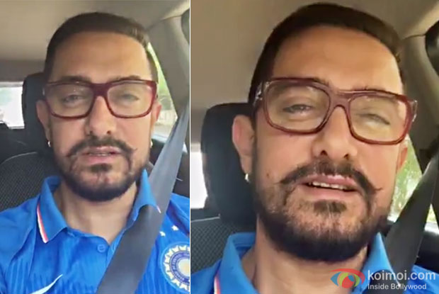 This is what Aamir Khan had to say in his very first Selfie video!