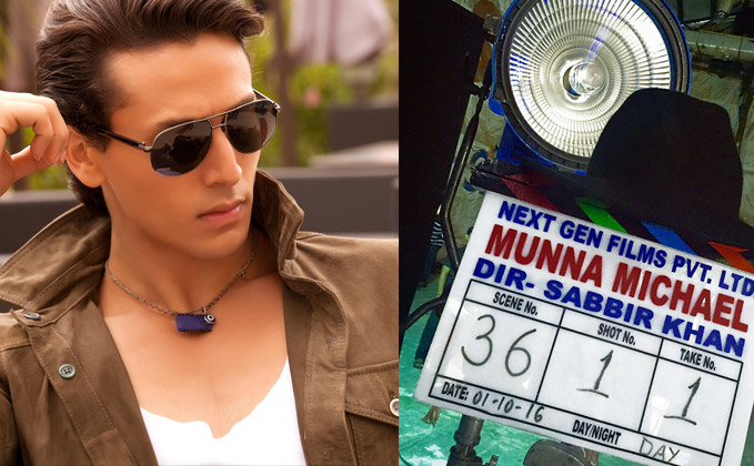 Tiger Shroff Begins With The Shooting Of Munna Michael