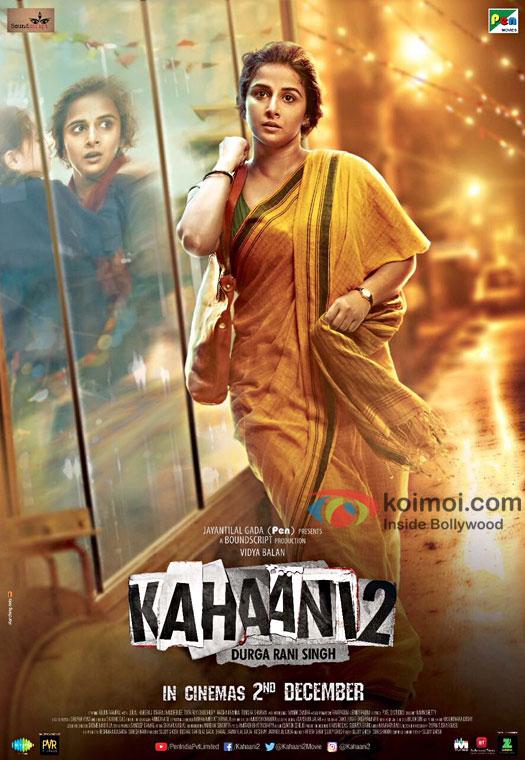 Vidya Balan Starrer Kahaani 2 Poster