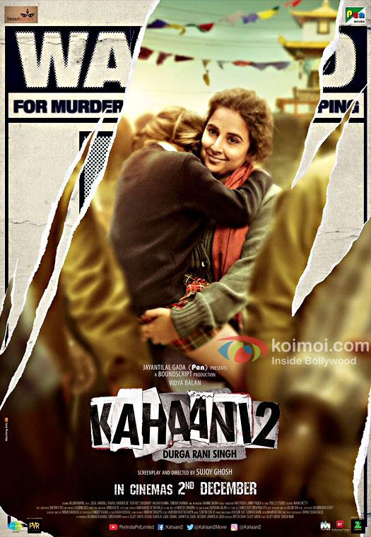 Vidya Balan's Kahaani 2 Poster