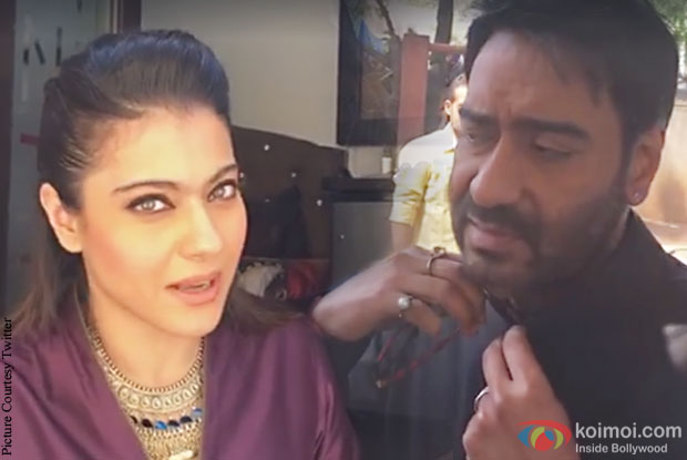What happened when Kajol tried to teach Ajay Devgn Marathi?