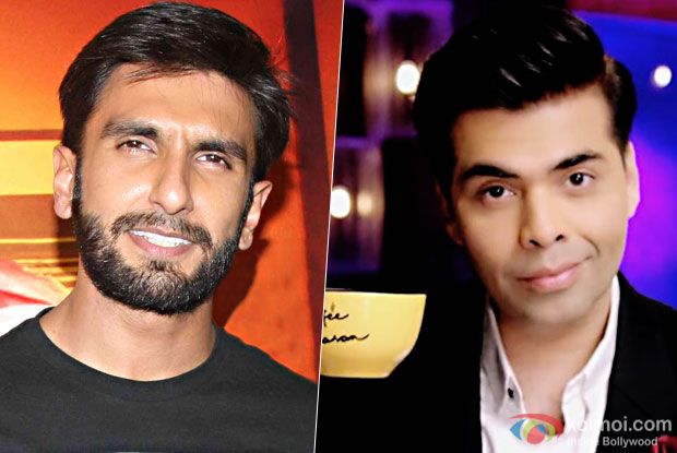Who is going to steam up the Koffee couch with Ranveer Singh on Koffee with Karan this season?