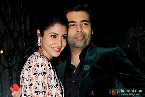 You look your best when you work with Karan Johar, says Anushka Sarma