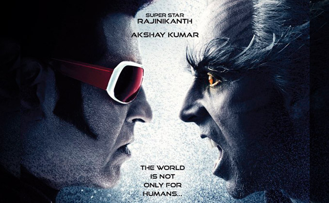 New Poster Showcases Face-Off Between Akshay & Rajinikanth
