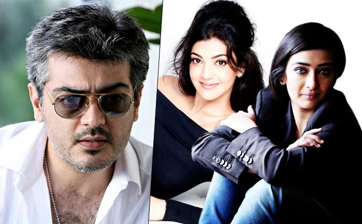 Kajal Aggarwal and Akshara Haasan in Ajith Kumar's next yet-untitled Tamil project