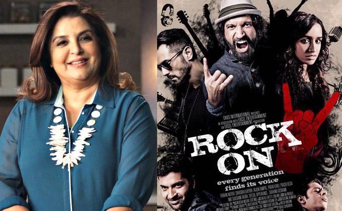 Farah Khan choreographs special track for 'Rock On 2'