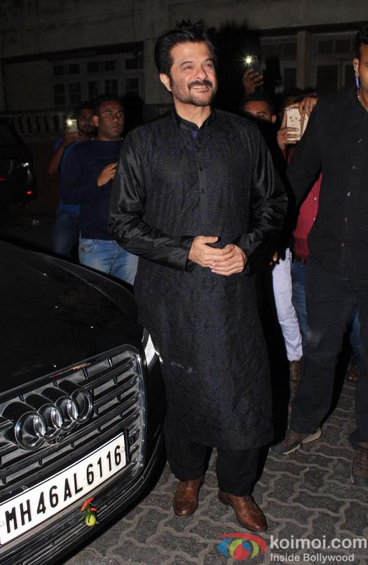 Anil Kapoor during Aamir Khan's Diwali celebration