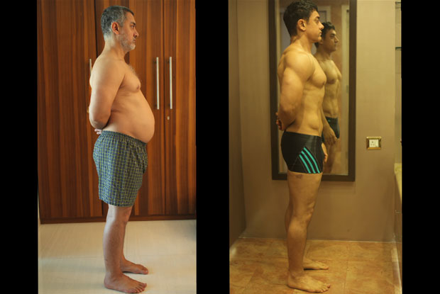 Aamir Khan's journey from 97 kgs to a fab body!