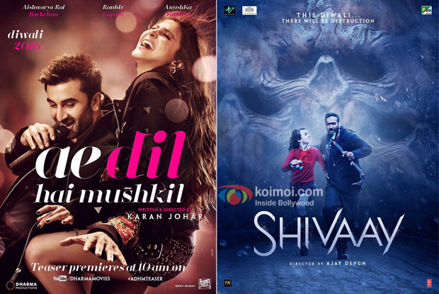 Check Out ADHM & Shivaay Gross Collections At The Box Office