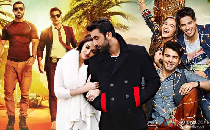 Ae Dil Hai Mushkil Evicts Dishoom; Beats Kappor And Sons To Enter Top 10 2016's Grossers