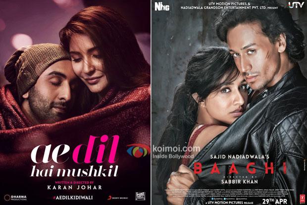 Ae Dil Hai Mushkil Overtakes Baaghi; Becomes 7th Highest Grosser