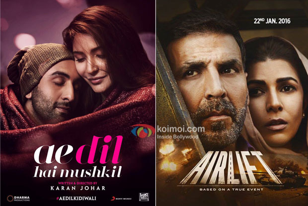 Ae Dil Hai Mushkil Surpasses Airlift Worldwide Collections