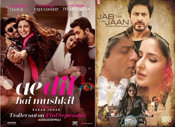 Ae Dil Hai Mushkil Surpasses Jab Tak Hai Jaan Worldwide Collections