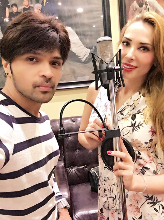 After receiving praises from Salman Khan, Himesh Reshammiya ropes in Iulia to be a part of his album 'Aap Se Mausiiquii'