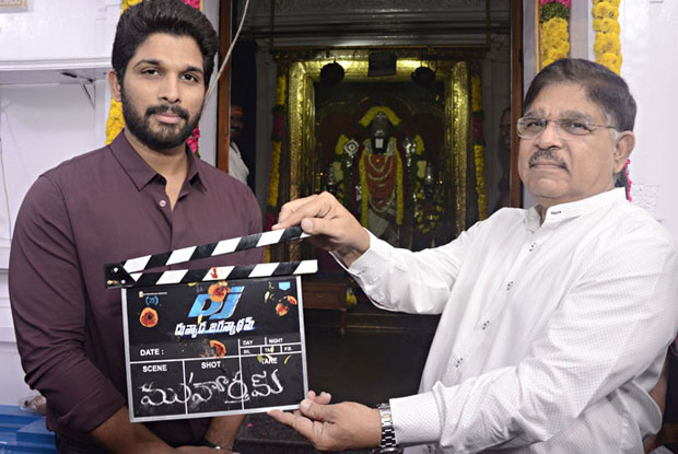 Allu Arjun starts shooting for 'DJ'