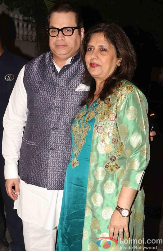 Bollywood Celebs Attend Amitabh Bachchan's Diwali party