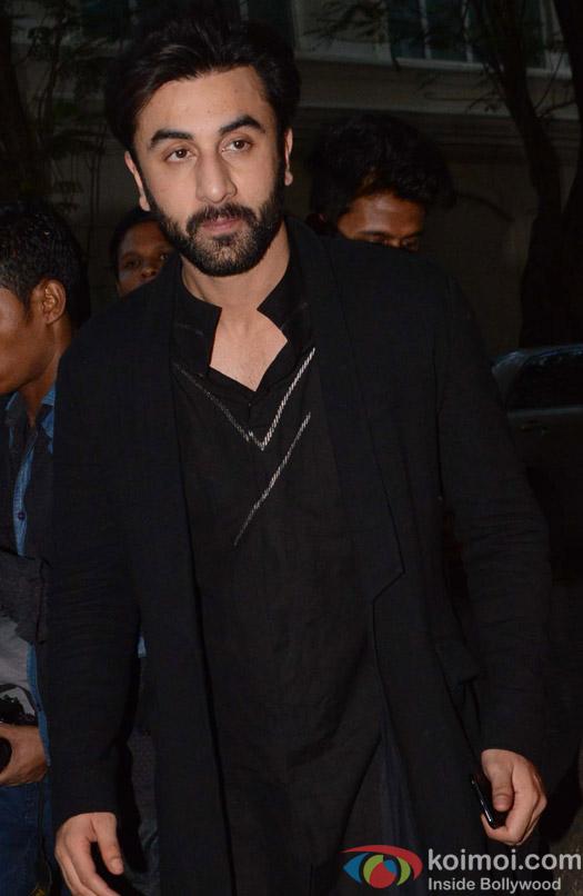 Ranbir Kapoor during the Anil Kapoor's Diwali celebrations
