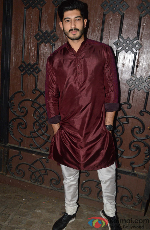 Mohit Marwah during the Anil Kapoor's Diwali celebrations