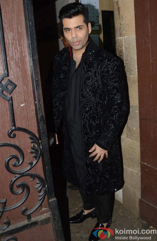 Karan Johar during the Anil Kapoor's Diwali celebrations