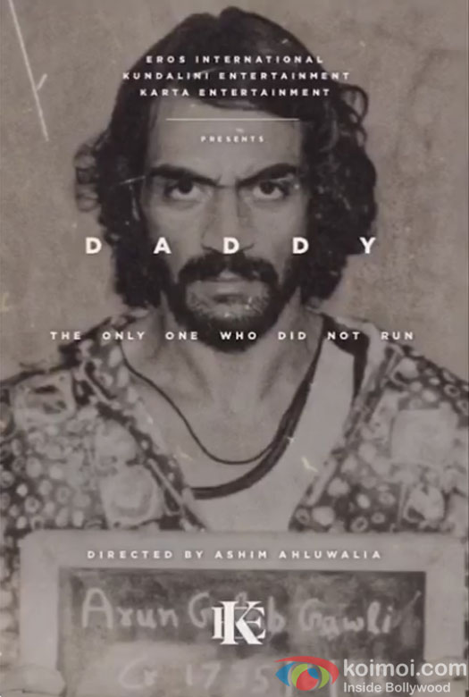 """In """"Daddy"""", where Arjun Rampal will be seen playing the role of Arun Gawli, a gangster-turned-politician of Mumbai."""