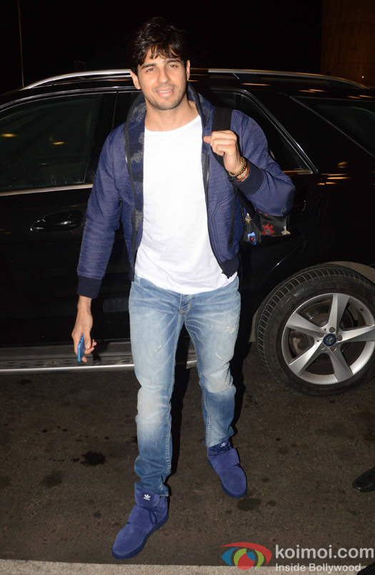 Sidharth Salhotra spotted at Airport