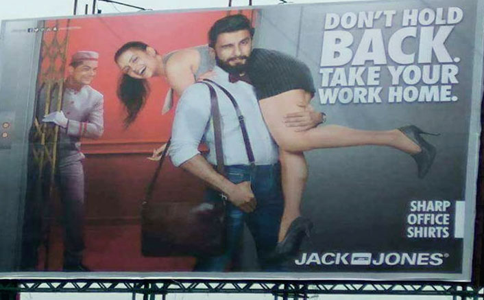 Bollywood's studied silence over Ranveer Singh's sexist ad