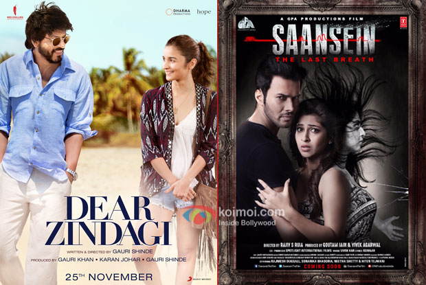 Box Office Predictions - Dear Zindagi, Saansein