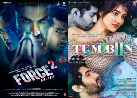 Box Office Predictions - Force 2, Tum Bin 2