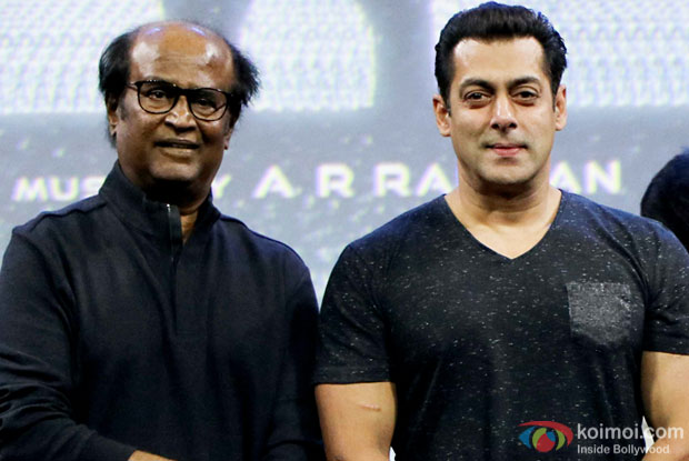 Came uninvited just to meet Rajinikanth: Salman Khan
