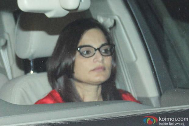 Alvira Khan at Salman Khan's House