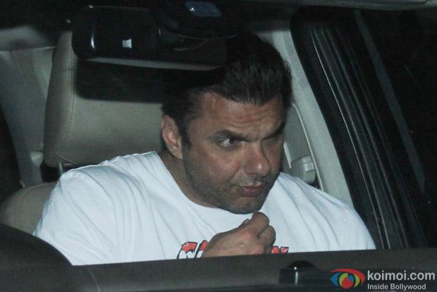 Sohail Khan at Salman Khan's House