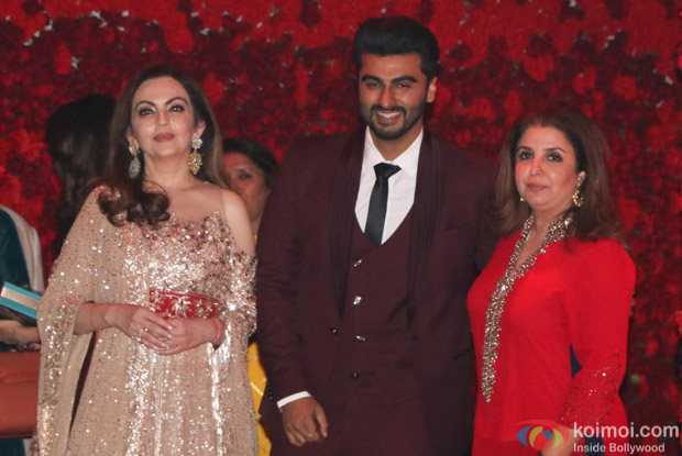 Nita ambani, arjun Kapoor and Farah Khan spotted at Mukesh Ambani,s party