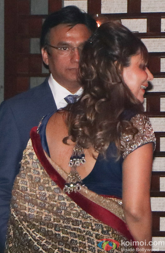 Gauri Khan spotted at Mukesh Ambani,s party