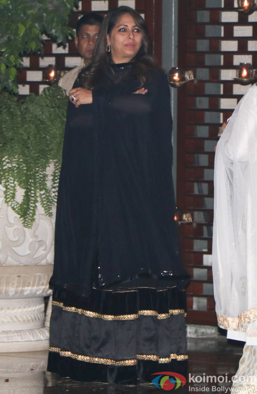 Geeta Kapoor spotted at Mukesh Ambani,s party