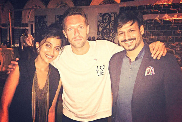Chris Martin parties with SRK & Other B Town Celebs in Mumbai