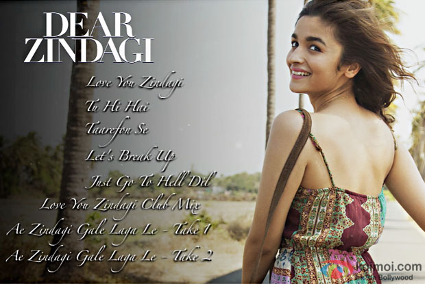 Dear Zindagi Jukebox – Alia Bhatt, Shah Rukh Khan