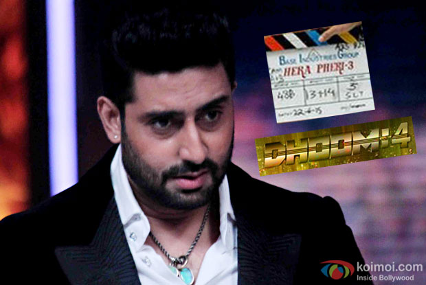 Dhoom 4 & Hera Pheri 3 Not Happening Soon Says Abhishek Bachchan