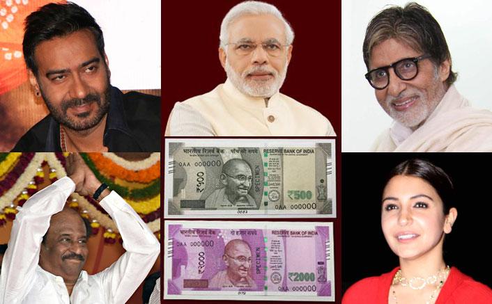 Film celebrities laud Modi's 'masterstroke' of demonetisation
