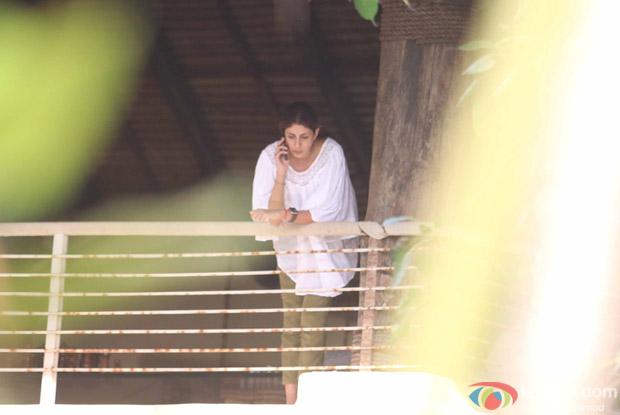 Shweta Bachchan in Alibaug during SRK's birthday bash
