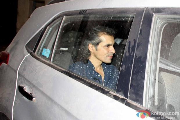 Imtiaz Ali in Alibaug during SRK's birthday bash
