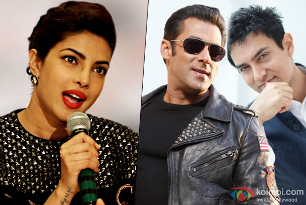 Having Aamir Or Salman On Poster, Films Make 300 Cr Films: Priyanka Chopra